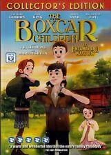 NEW CHILDREN'S  DVD - BOXCAR CHILDREN - ZACHARY GORDON ,  FULL LENGTH ANIMATED