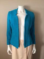 Alfani Petite Blue Open Jacket 10P