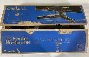 "Samsung T350 24"" FHD IPS Monitor - Dark Blue Gray"