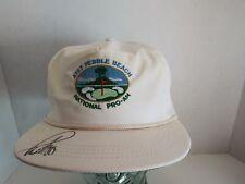 Paul Azinger Signed Pebble Beach National Pro-Am VTG Hat Autographed PGA 1992
