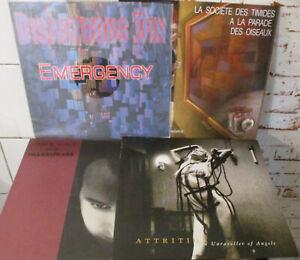 "Electro/Avantgarde Vinyl Paket 4 x LP / 4 x 7"" , NEUWARE"
