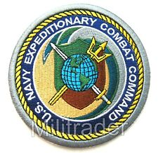 United States Us Navy Expeditionary Combat Command Patch