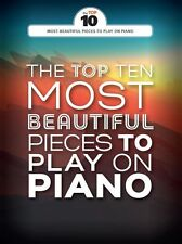 The Top Ten Most Beautiful Pieces To Play On Piano Classical Mozart MUSIC BOOK