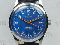 Vintage Nivada Mens Analog Dial Mechanical Handwinding  Wrist Watch OG37 N