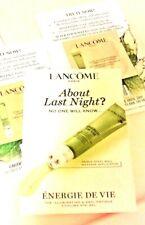 10 Sample LANCOME Energie De Vie Illuminating Anti-Fatigue Cooling Eye Gel 0.5oz