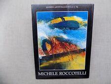 Michele Roccotelli Alessandro Mozzambani Dino Pasquali Peinture Abstraite Italie