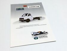 1996 Daewoo Polska Lublin Chassis Cab 0352 Light Delivery Vehicles Brochure