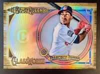 FRANCISCO LINDOR 2018 Topps Gypsy Queen Glassworks Box Topper #GW-FL Indians
