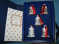 Hutschenreuther Setzkasten mit 5 Miniglocken 1998 - 2002 limitierte Auflage x
