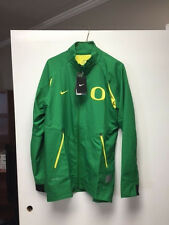Oregon Ducks Nike Dri Fit Game Jacket New with Tags Size Medium Apple Green
