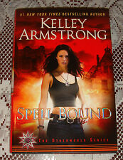 Kelley Armstrong Signed Spell Bound HC BOOK 1/1 DATED