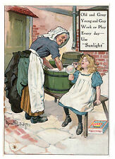 Sunlight Soap - Magazine Insert c1910 / Advertising