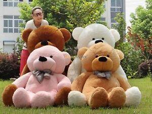 Fancytrader 6.56 Feet 78'' JUMBO Giant Plush Stuffed TEDDY BEAR 4 Colors FT90056