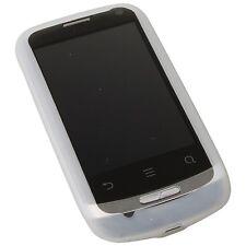 Coque Silicon Blanc Housse Étui Sac pour Huawei U8510