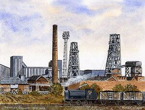 Frickley Colliery - 1903 - 1993 - Ltd Ed Print - Pit Pics - Coal Mining