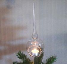 Windlicht Christbaum Spitze Weihnachtsspitze Teelichtspitze Lauscha Qualität