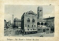 """"""" BOLOGNA : Via Rizzoli e Palazzo Re Enzo  """"  Viaggiata  Anno 1958"""