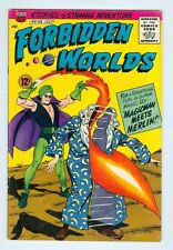 Forbidden Worlds #128 July 1965 VG Magicman meets Merlin