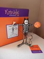Department 56 (New) Krinkles Patience Brewster Boney Cat Brother Free Shipping
