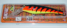 "9"" Ernie Musky Mania Pike Muskie Crankbait Lure Firebelly ED-53 Drifter Tackle"