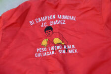 Vintage Boxing From Culiacan Sinaloa Julio Cesar Chavez Satin Jacket.