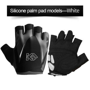 Unisex Cycling Half Finger Bike Gloves MTB Riding Short Finger Gloves Shockproof