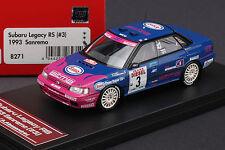 Subaru Legacy RS #3 1993 Sanremo Rally **Piero Liatti** -- HPI #8271 1/43