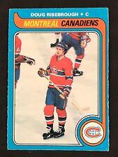 1979-80 OPC O-PEE-CHEE HOCKEY DOUG RISEBROUGH CARD #13 MONTREAL CANADIENS EXMT+