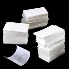 1000pc Nail Art Polish Remover Lint Free Cleaner Wipe Cotton Pad Manicure Paper