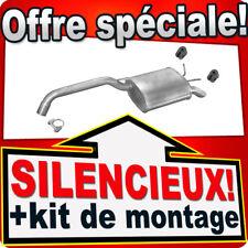 Silencieux Arriere RENAULT SAFRANE II 2.0 16V 2.4/2.5 20V 96-02 échappement UXR