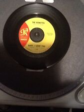 """45 """"Baby, I Love You/Miss Joan And Mister Sam""""-The Ronettes-Phillies #118"""