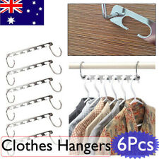 WINOMO Space Saver Metal Hanger 6 Pieces