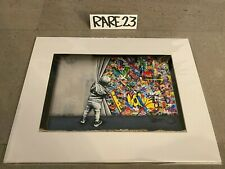 Martin Whatson Behind the Curtain Wynwood Walls Edition Matted Photo Print 2018