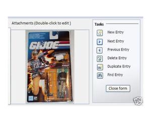Software for Vintage Star Wars & GI Joe Action Figures
