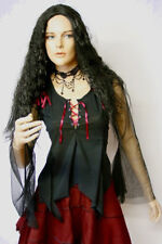 "Gothic Mittelalter LARP Bluse Top Shirt "" Helena """