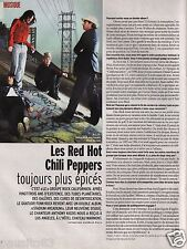 Coupure de presse Clipping 2006 Les Red Hot Chili Peppers  (1 page)