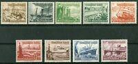 Deutsches Reich DR Nr. 651 - 659 postfrisch Winterhilfswerk Michel 100 € MNH