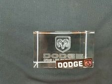 DODGE LASER ETCHED PAPERWEIGHT SUPER COOL GRAB LIFE BY THE HORNS