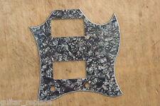Golpeador Gris Perlado Epiphone SG Pickguard Black 3 Capas Grey Pearl Epi