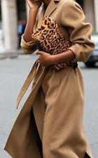 100%AUTH MAX MARA Iconic Manuela coat/6/M/Tan/Camelhair/brown/38/S
