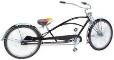 "LIMO LOWRIDER BICYCLE 26"" BLACK 144 SPOKE LOWRIDER BIKE"