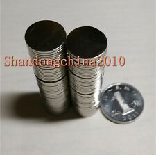100PCS Neodymium Disc Mini 12X1mm Rare Earth N35 Strong Magnets Craft Models