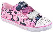 Chaussures multicolores Skechers en toile pour fille de 2 à 16 ans