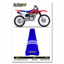 1995-1996 HONDA CRF 230 TLD SEAT COVER BY Enjoy MFG