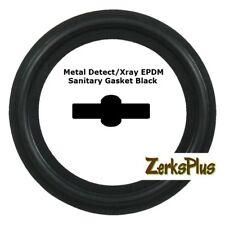 Sanitary Gasket Tri Clamp Style 1 12 Metal Detectxray Epdm Black