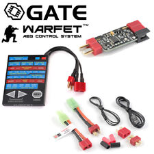 GATE WARFET 1.1 PLUG AND PLAY MOSFET WITH PROGRAMMING CARD 20 FUNCTIONS AIRSOFT