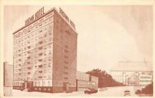 THE BROWN HOTEL Des Moines, Iowa c1950s Vintage Postcard