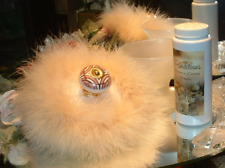 Whimsical ~ 6 oz Perfumed Dusting Powder Puff & Stand by Renditions