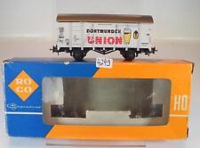 Roco H0 4305E Güterwagen Bierwagen Dortmunder Union 2-achsig der DB OVP #4249