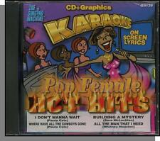 Karaoke CD+G - Pop Female Hot Hits - New Singing Machine CD! All The Man I Need